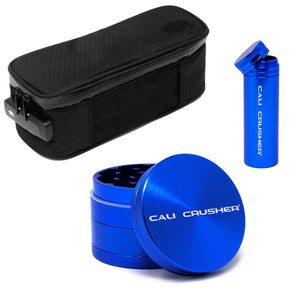 "Sm soft case + Blue 2"" + Blue storage"
