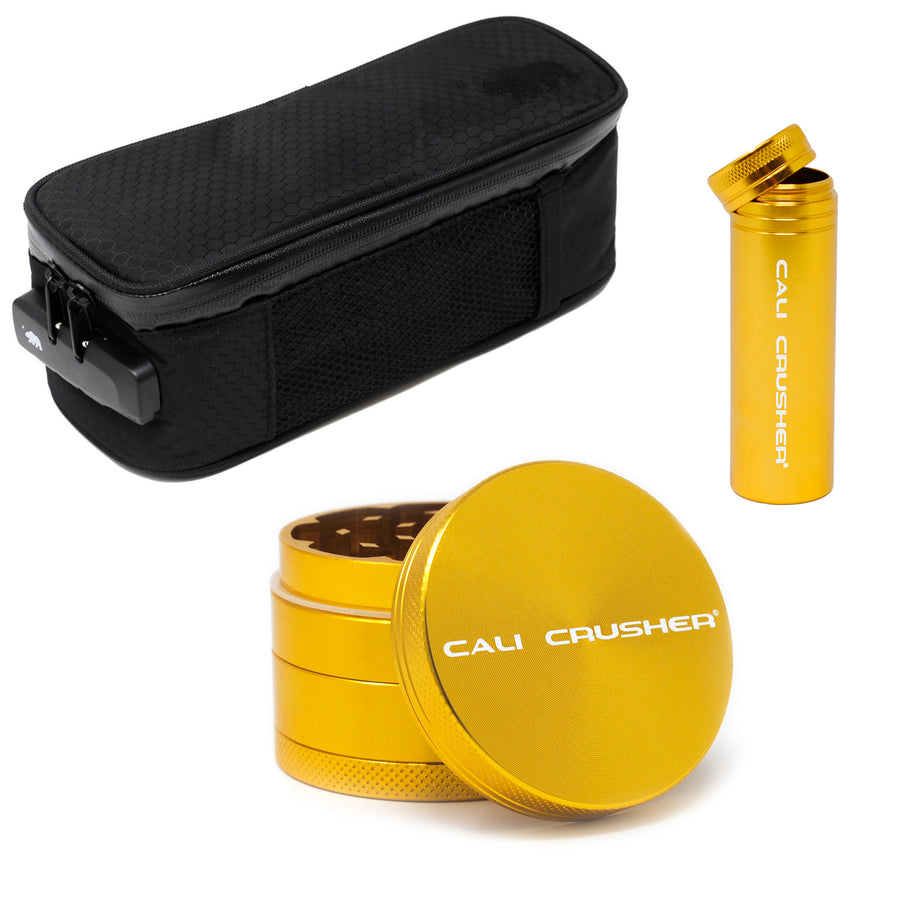 "Sm soft case + Gold 2"" + Gold storage"