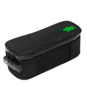 Small case green logo