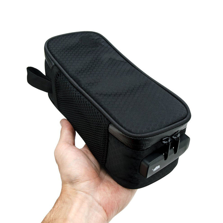 Small soft case in hand