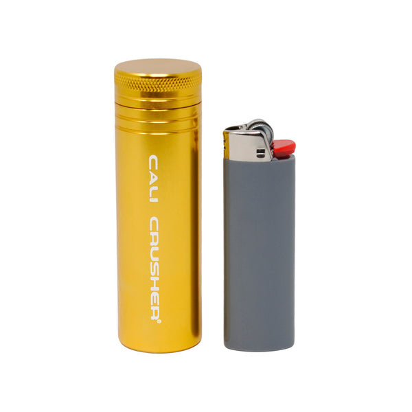 Gold pocket storage with lighter