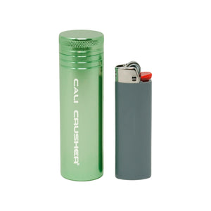 Green pocket storage with lighter