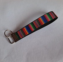 Load image into Gallery viewer, Sarape wristlet Keychain