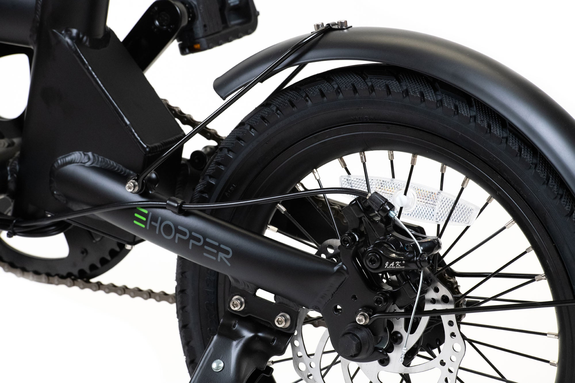 "PERRY eHopper 16"" Folding Electric Bike - BLACK - PREORDER"