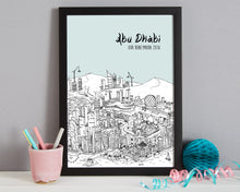 Load image into Gallery viewer, Personalised Abu Dhabi Print-6