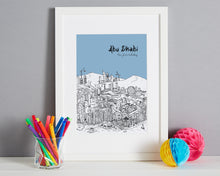 Load image into Gallery viewer, Personalised Abu Dhabi Print-1