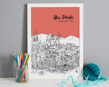 Load image into Gallery viewer, Personalised Abu Dhabi Print-4