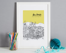 Load image into Gallery viewer, Personalised Abu Dhabi Print-5