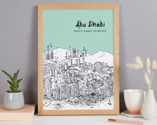 Load image into Gallery viewer, Personalised Abu Dhabi Print