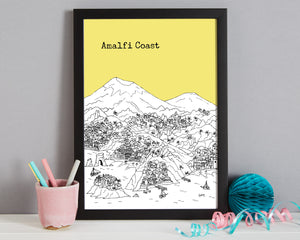 Personalised Amalfi Coast Print-8