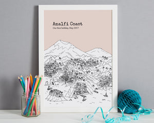 Personalised Amalfi Coast Print-7