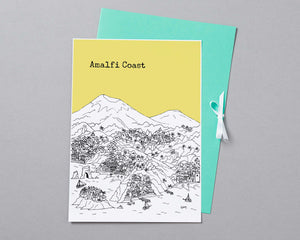 Personalised Amalfi Coast Print-4