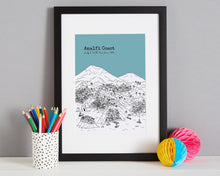Load image into Gallery viewer, Personalised Amalfi Coast Print-3