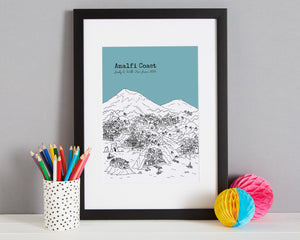 Personalised Amalfi Coast Print-3