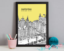 Load image into Gallery viewer, Personalised Amsterdam Print-5