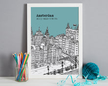 Load image into Gallery viewer, Personalised Amsterdam Print-4