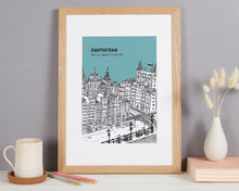 Load image into Gallery viewer, Personalised Amsterdam Print