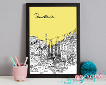 Load image into Gallery viewer, Personalised Barcelona Print-6