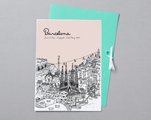 Load image into Gallery viewer, Personalised Barcelona Print-3