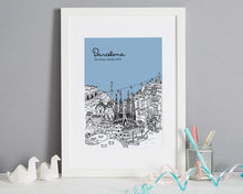 Load image into Gallery viewer, Personalised Barcelona Print-1