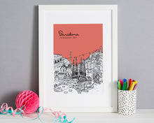 Load image into Gallery viewer, Personalised Barcelona Print-4