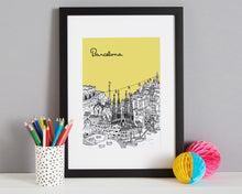 Load image into Gallery viewer, Personalised Barcelona Print-8