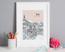 Load image into Gallery viewer, Personalised Bath Print-1
