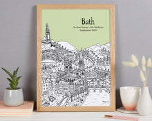 Load image into Gallery viewer, Personalised Bath Graduation Gift