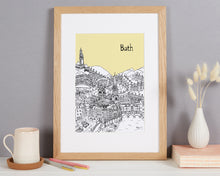 Load image into Gallery viewer, Personalised Bath Print