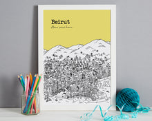 Load image into Gallery viewer, Personalised Beirut Print-4