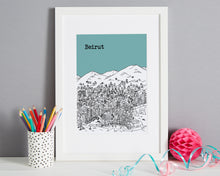 Load image into Gallery viewer, Personalised Beirut Print-5