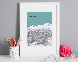 Personalised Beirut Print-5