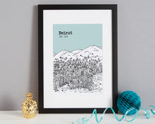 Load image into Gallery viewer, Personalised Beirut Print-3
