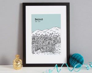 Personalised Beirut Print-3