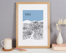 Load image into Gallery viewer, Personalised Belfast Print