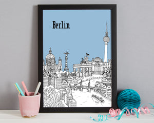 Personalised Berlin Print-3