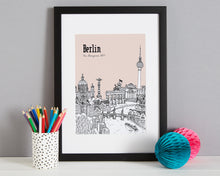 Load image into Gallery viewer, Personalised Berlin Print-4