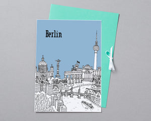Personalised Berlin Print-5