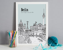 Load image into Gallery viewer, Personalised Berlin Print-7