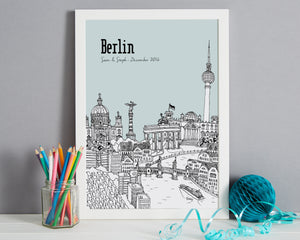 Personalised Berlin Print-7