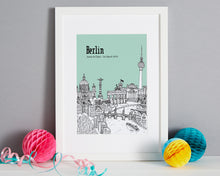 Load image into Gallery viewer, Personalised Berlin Print-6