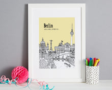 Load image into Gallery viewer, Personalised Berlin Print-1