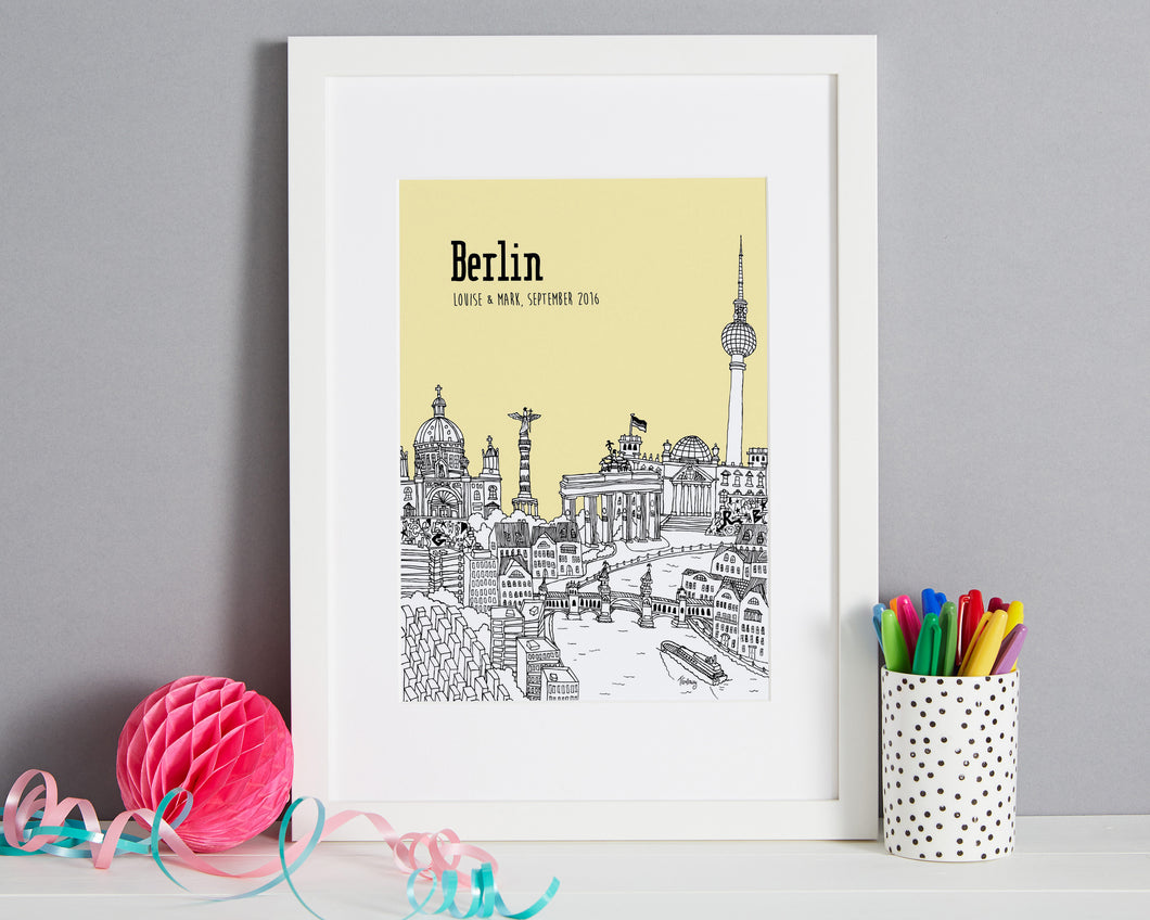 Personalised Berlin Print-1