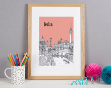 Load image into Gallery viewer, Personalised Berlin Print