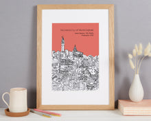 Load image into Gallery viewer, Personalised Birmingham Graduation Gift