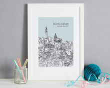 Load image into Gallery viewer, Personalised Birmingham Print-9