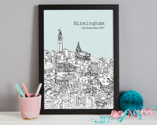 Load image into Gallery viewer, Personalised Birmingham Print-3