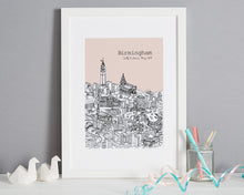 Load image into Gallery viewer, Personalised Birmingham Print-7