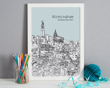 Load image into Gallery viewer, Personalised Birmingham Print-8