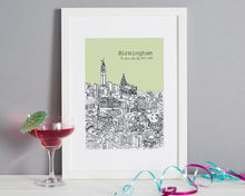 Load image into Gallery viewer, Personalised Birmingham Print-1